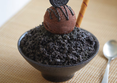 Chocolate Cookie Bingsoo