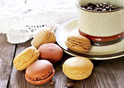 Macarons-Coffee