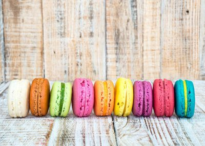Macarons-Multicolor