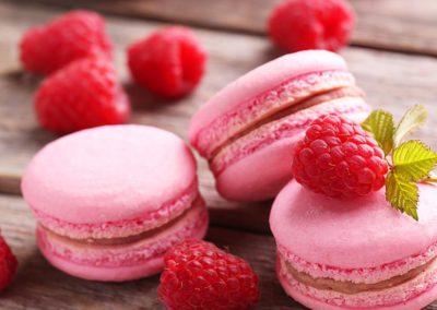 Macarons-Rasberry